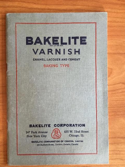Een zoektocht naar het verleden: veel literatuur over bakeliet   480 x 640 jpeg 136kB